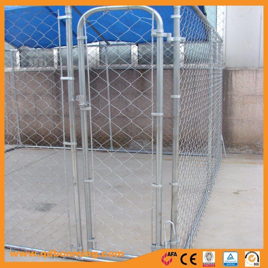 Box Outdoor Chain Link Wire Dog Run Enclosure
