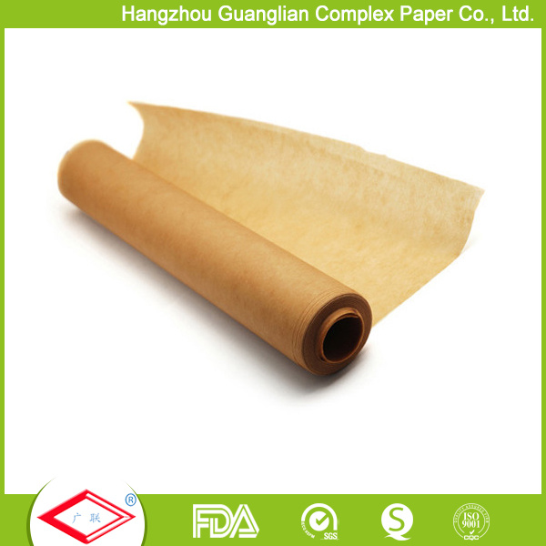 40cmx60cm FDA Approved Non-Stick Silicone Coated Baking Parchment Paper pictures & photos