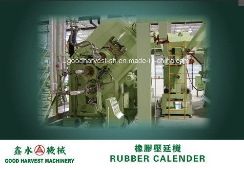 Calender Line for Rubber Tires Making Plant-Inner Liner