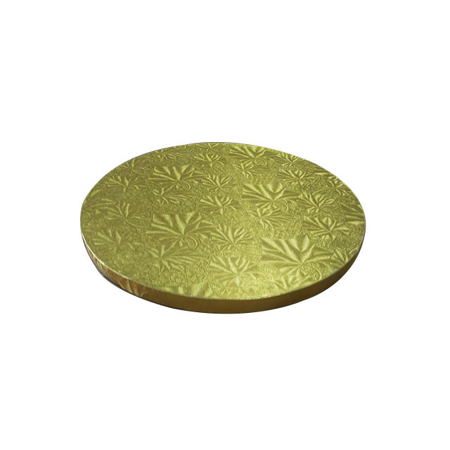 China Wholesale Round Gold Cake Boards Cake Drums Covered with Foil ...