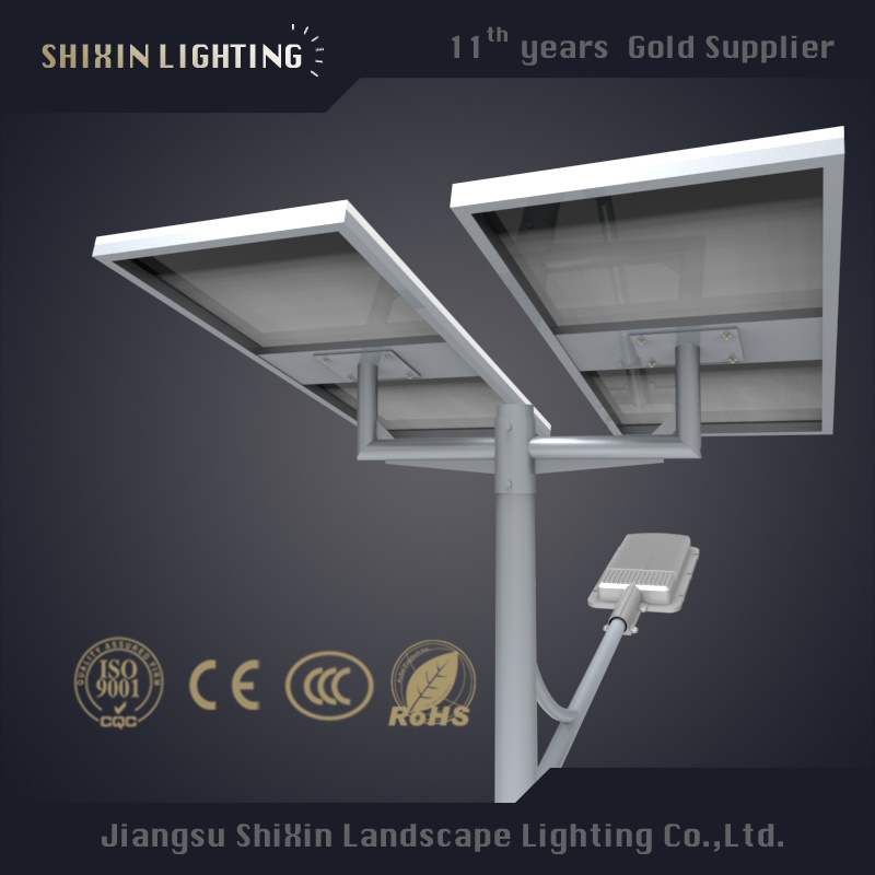 60W Solar LED Street Light with CE RoHS Approved 5 Years Warranty 120lm/W (SX-TYN-LD)