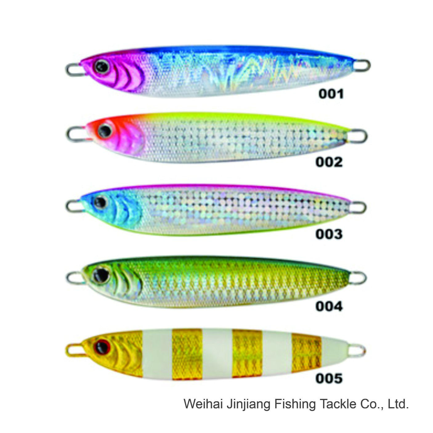 China Glf-085 Slow Jig Weihai Factory Fishing Lure Fishing Tackle