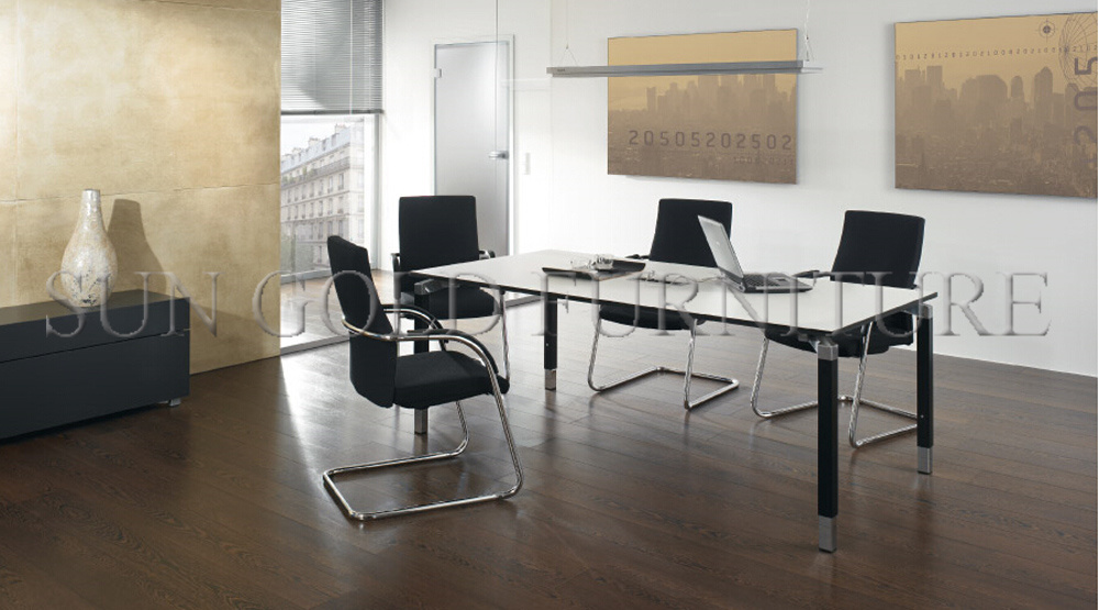 [Hot Item] Modern Used Office furniture, Small Banquet Conference Table  White (SZ-MT8)