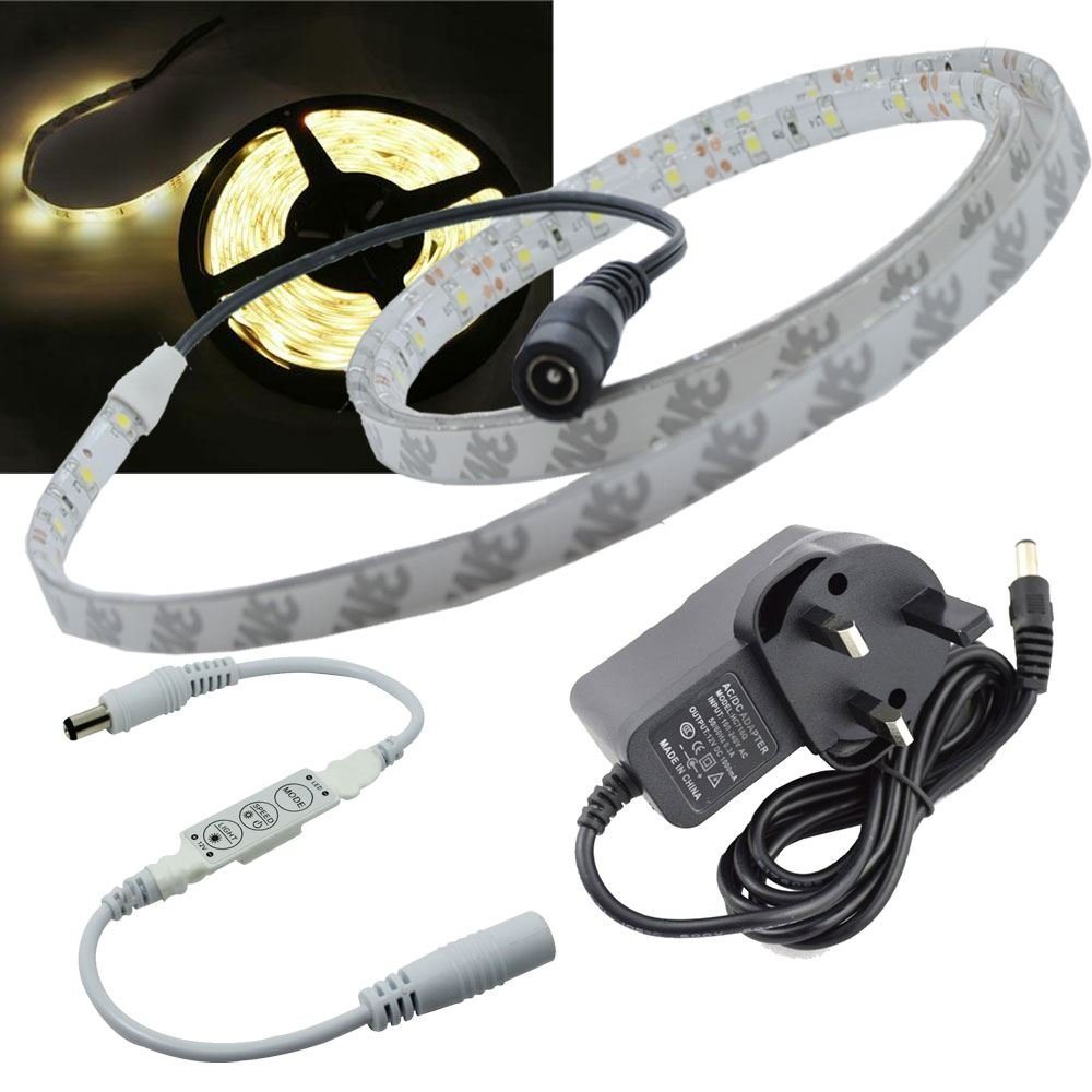 China Warm White 1 Metre Waterproof Dimmable Led Strip Light Flasher