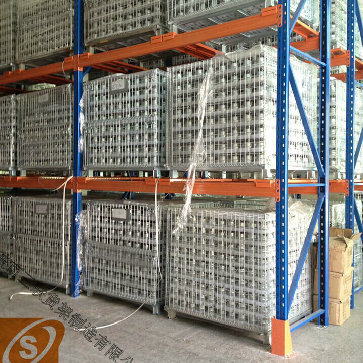 2016 China High Quality USA Style Teardrop Pallet Rack