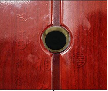 Wireless 5.8g Mini CCTV Video Camera Door Eye Camera With Door Peephole  Size For Home Security
