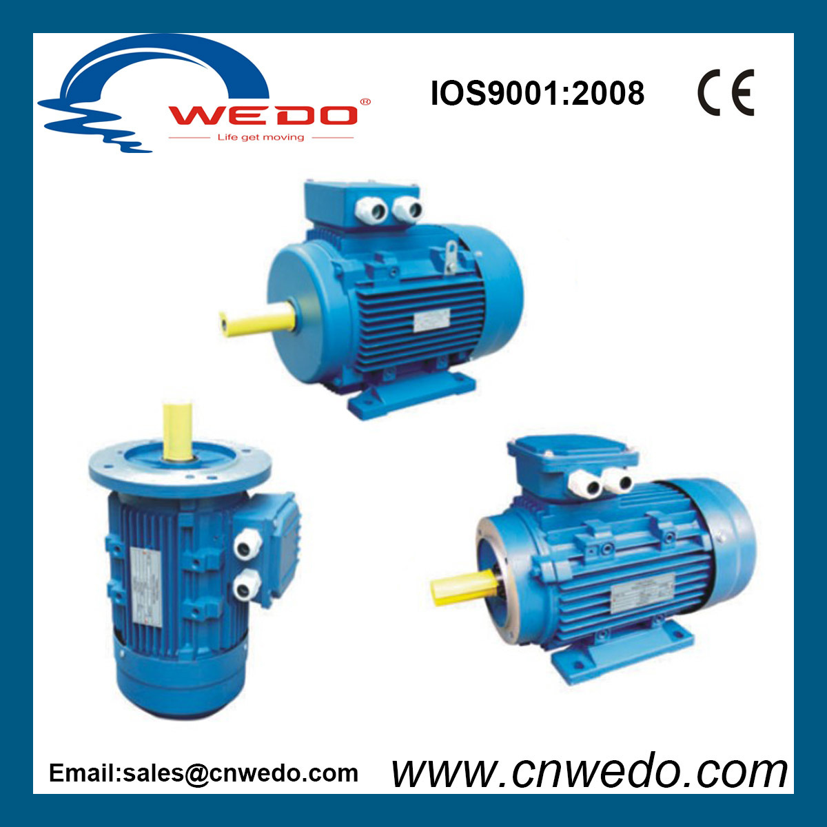 China Ms Series Three-Phase Asynchronous Motor with Aluminium ...