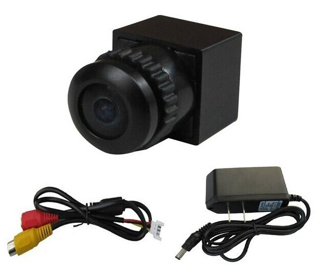170 Deg Wide Angle Fish Eye Lens Micro Security Mini Surveillance Camera 3.6-24V