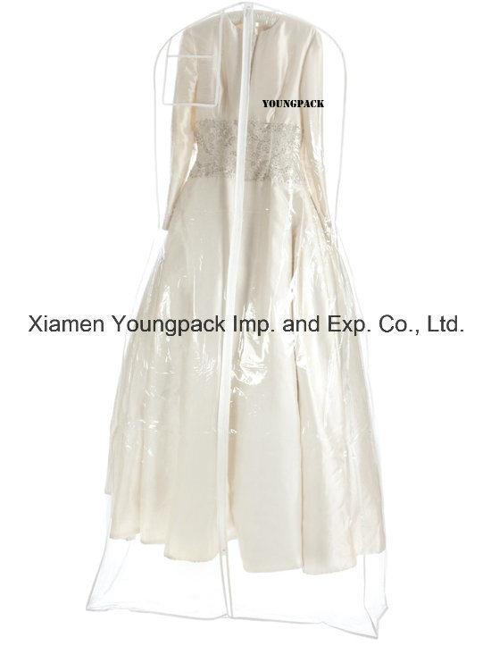 China Fashion Clear Vinyl Bridal Wedding Dress Garment Bag China Garment Bag And Dress Garment Bag Price