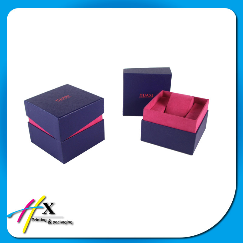 Fancy Custom Wooden Watch Cosmetic Jewelry Packing Paper Gift Box