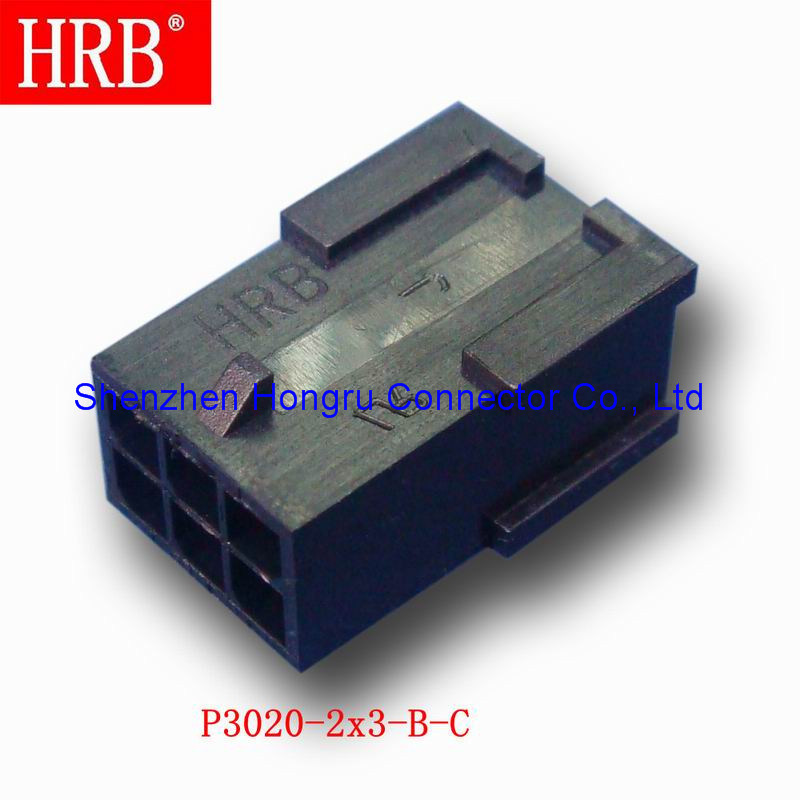 Hrb Female Wire to Wire Connector Housing