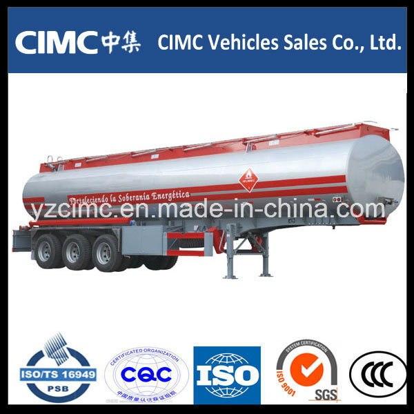 Cimc 3 Axle 45000L Oil Tanker / Fuel Tanker/Fuel Tank/Diesel Tank for Philippines Market pictures & photos