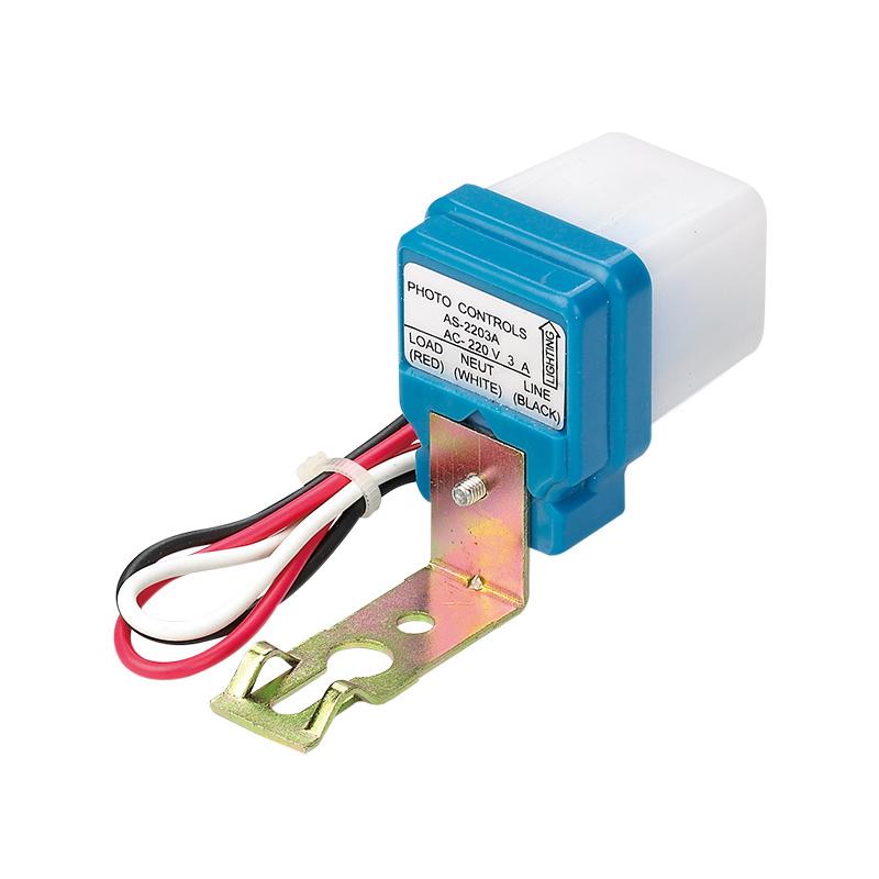 Hot Item 10a Auto On Off Photocell Light Switch Photoswitch Light Sensor Switch