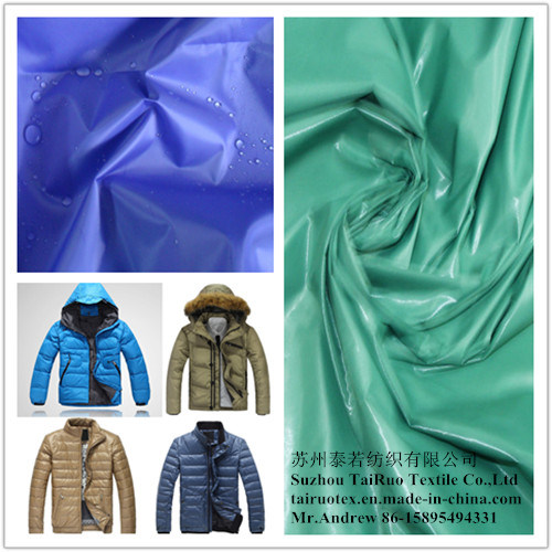 100% Nylon Taffeta Fabric with Waterproof and Coated for Garment Fabric pictures & photos