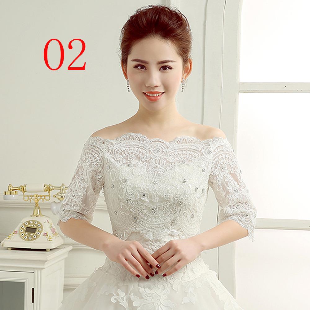 China Wholesale Lace Bridal Jacket Wrap Shawl Bolero for Wedding ...
