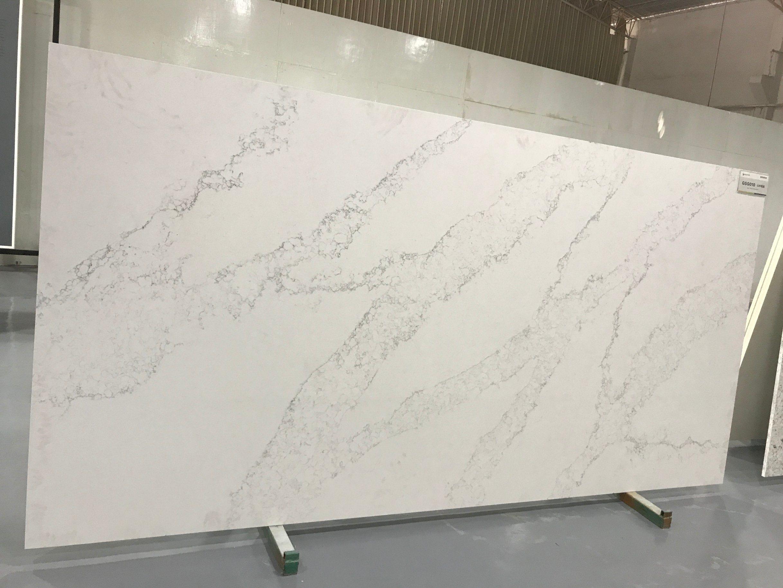 China Calcatta And Carrara Quartz Stone For Kitchen Quartz