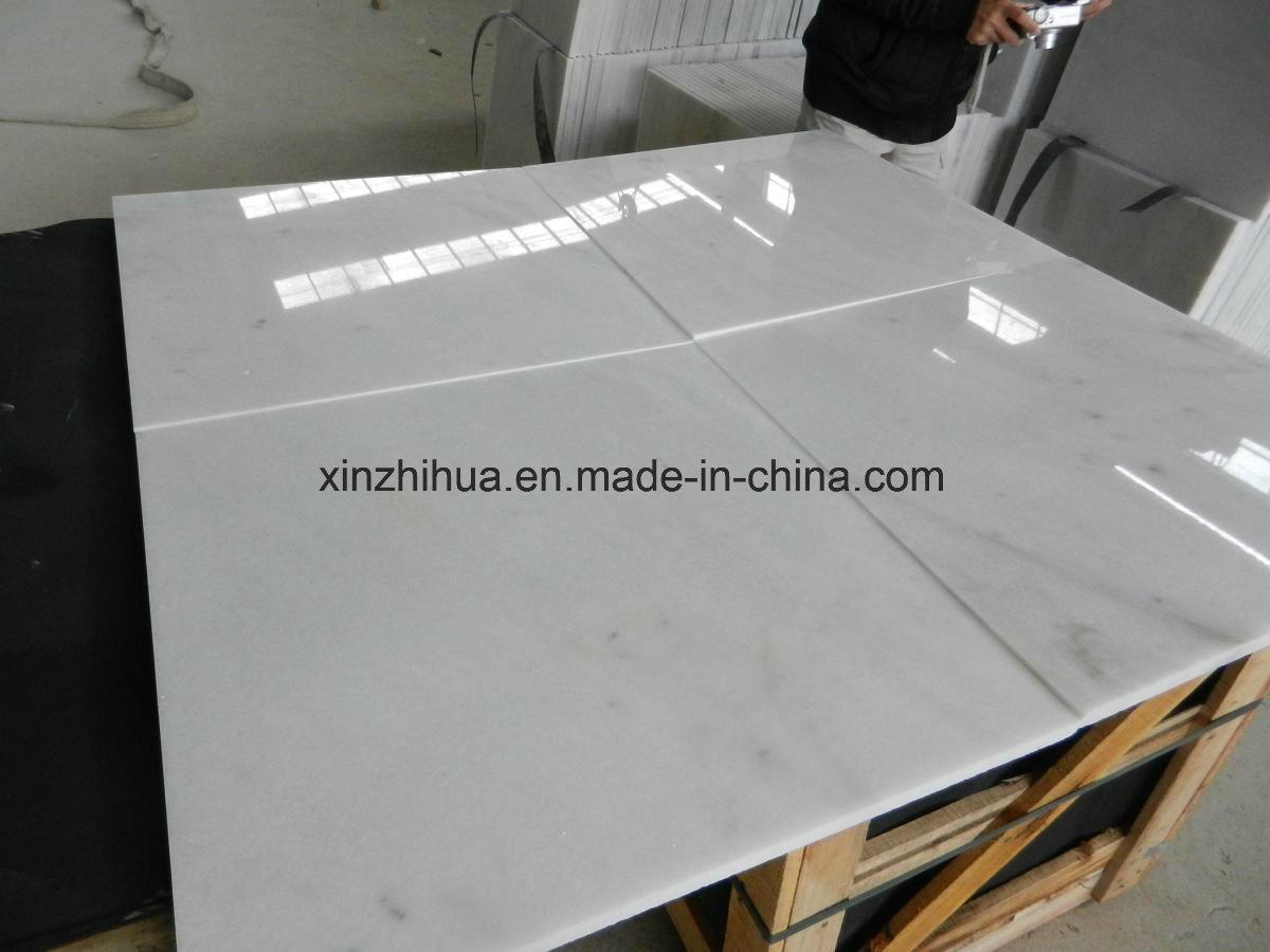China Chiva White Marble Flooring Tiles