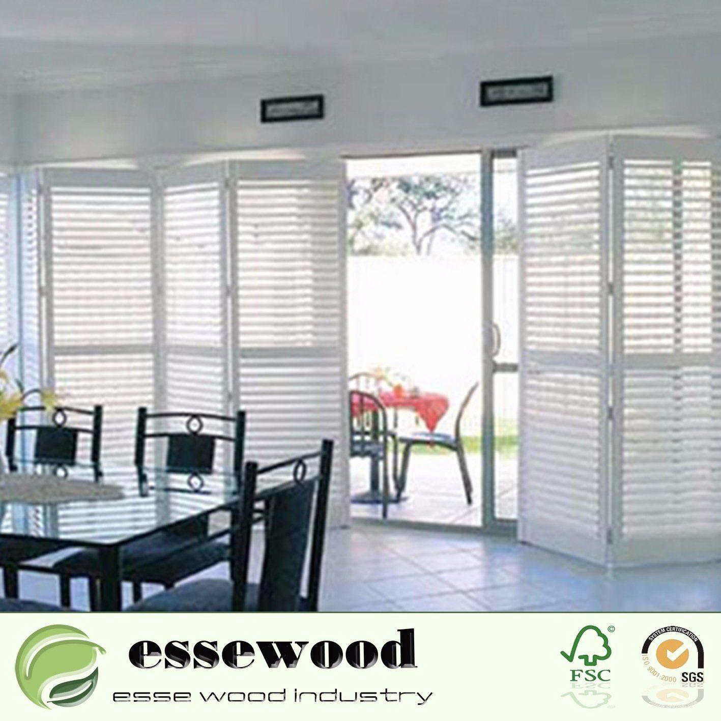 Hot Item Window Interior Plantation Pvc Vinyl And Wood Shutters With Elegant Design