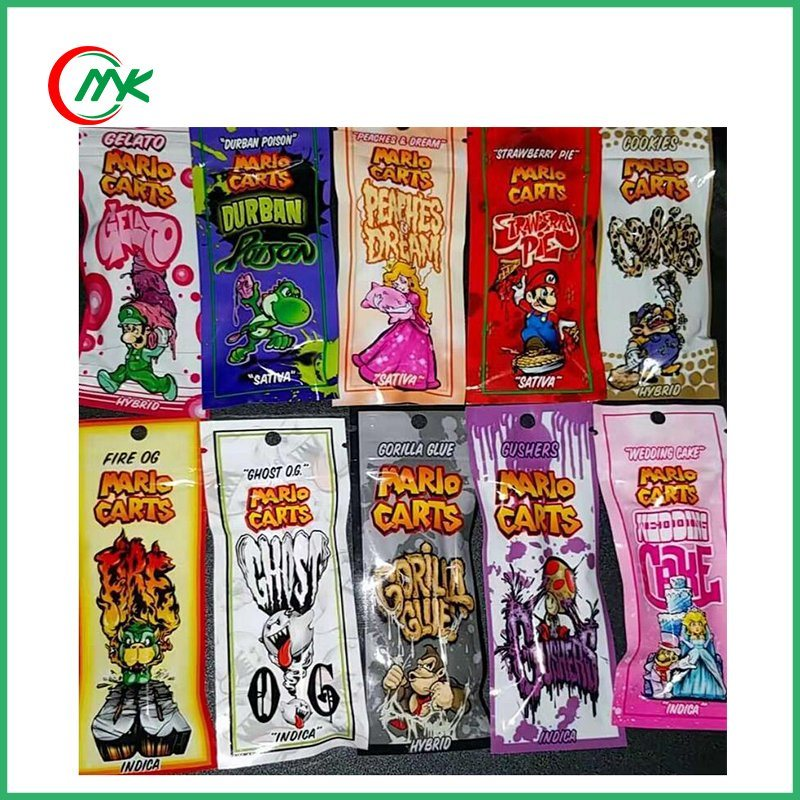 China 10 Flavors Of Mario Carts Atomizer Thc Oil Ikrusher Cartridges
