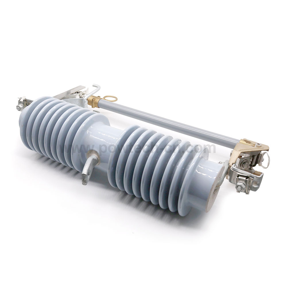 Outdoor Expulsion Drop-out Type Distribution Superior Porcelain Fuse Cutout Series 27kv-33kv