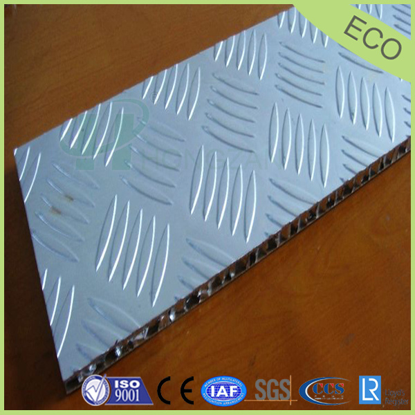 China Non Slip Stainless Steel Honeycomb Composite Panels For Floor