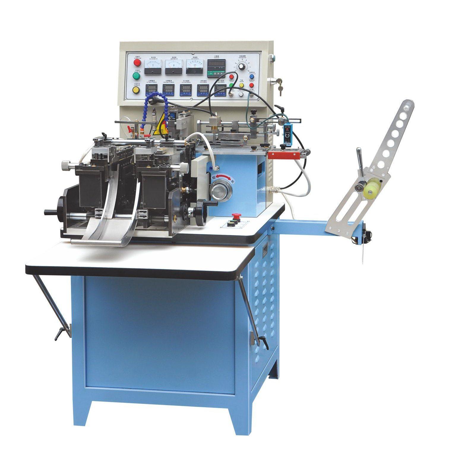 China Label Cutting and Folding Machine for Silk Ribbon Clothing Wash Care  Label - China Cutting Machine, Folding Machine