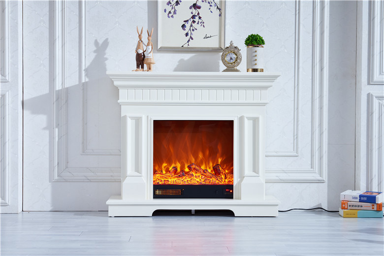 China European Style Indoor Home Decoration Luxury Freestanding Cultured Stone Marble Carved Fireproof Fireplace Mantel Sale China Fireplace Electrical Fireplace