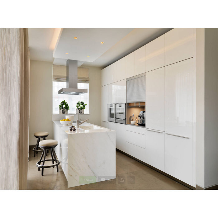 China High Gloss White Modern Kitchen Furniture Das Design Der Kuche ...