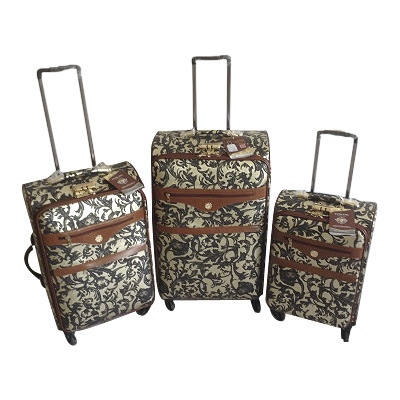 PU Leather Bags Trolley Case Luggage Jb-D011