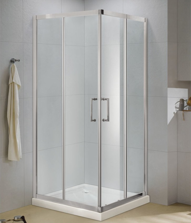 China Easy To Install Shower Enclosure 6mm Tempered Gl