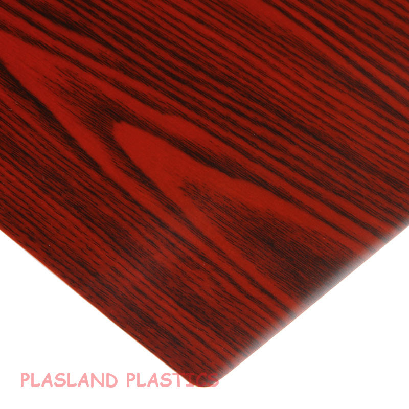 PVC Wood Grain Film / PVC Decorative Sheet