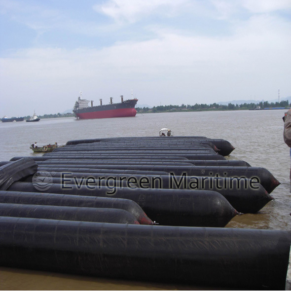 Ship Launching Rubber Marine Airbags, Marine Air Bags for Ship Launching,