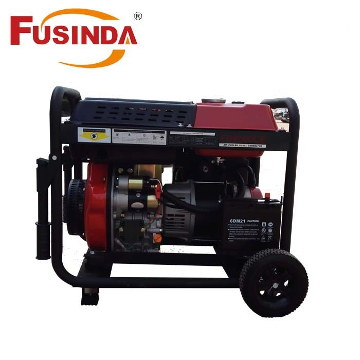 small portable diesel generator. 5kw Air Cooled Small Portable Diesel Generator