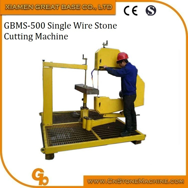 China Vertical Single Wire Saw Stone Cutting Machine - China wire ...