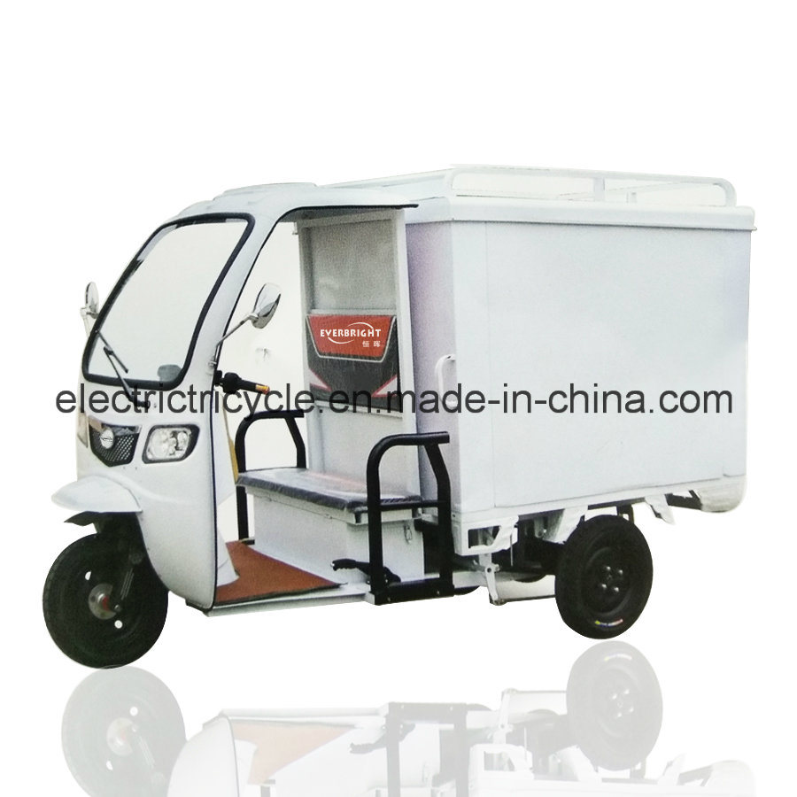 Mike Cargo Rickshaw 3 Wheel Cargo Electric Food Tricycle pictures & photos