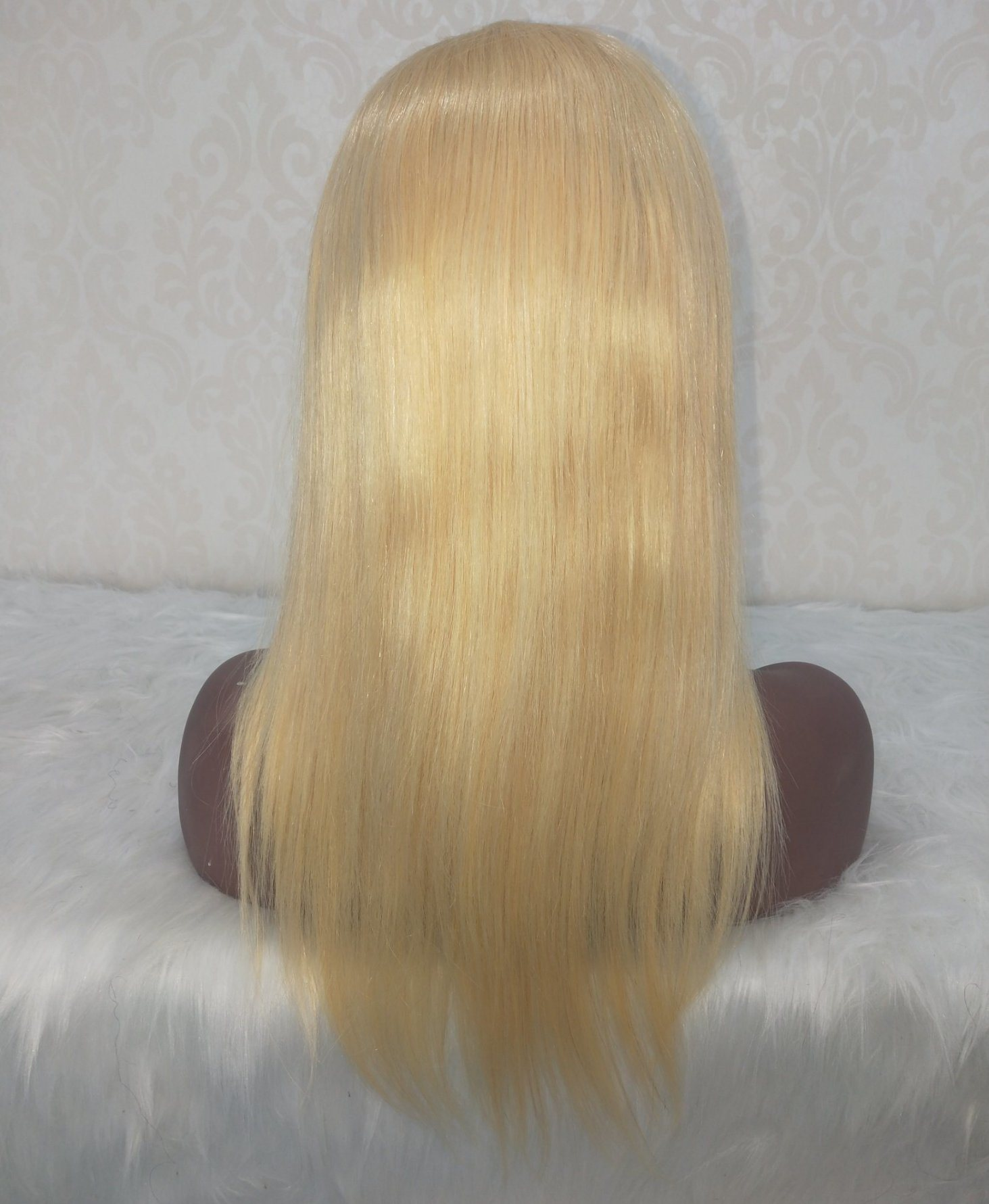 China 8 10 12 14 Inch Human Hair Bob Lace Front Wig Full Lace Wig Brazilian Virgin Remy Color Blonde Human Hair China Human Hair And Human Hair Wig Price