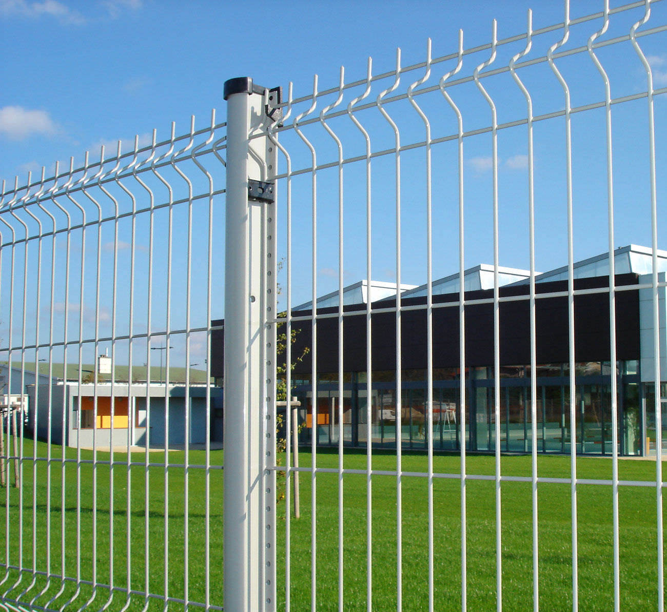 China 3D Curved Wire Mesh Fencing Panel for Fence - China ...