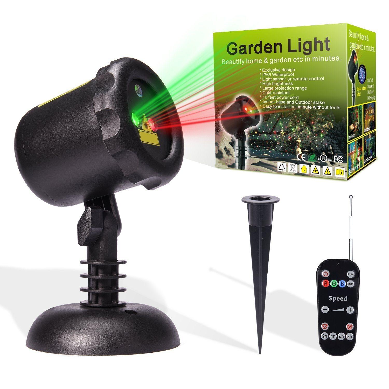 China Garden Light Laser Show Christmas Lights Projector Photos ...