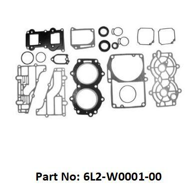 [Hot Item] 2 Stroke Outboard Gasket Kit 6L2-W0001-00 for YAMAHA 25HP / 30HP  Model Outboard