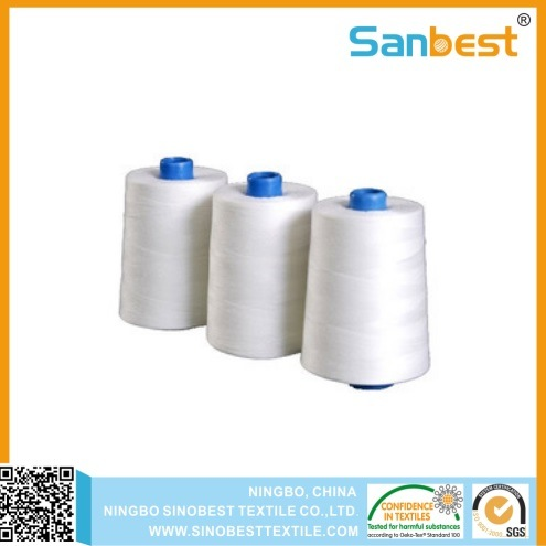 100% Mercerized & Gassed Cotton Sewing Thread Long Staple Cotton pictures & photos