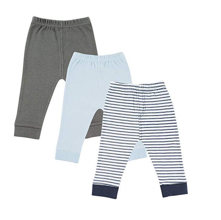 Printed Kids Unisex Newborn Baby Cotton Tapered Ankle Pants pictures & photos