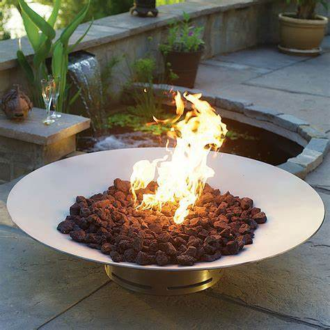 China Corten Steel Stainless Steel Fire Pit With Sand Blasting China Corten Steel Fire Pit And Fire Pits With Barbeque Cooking Ledge Price