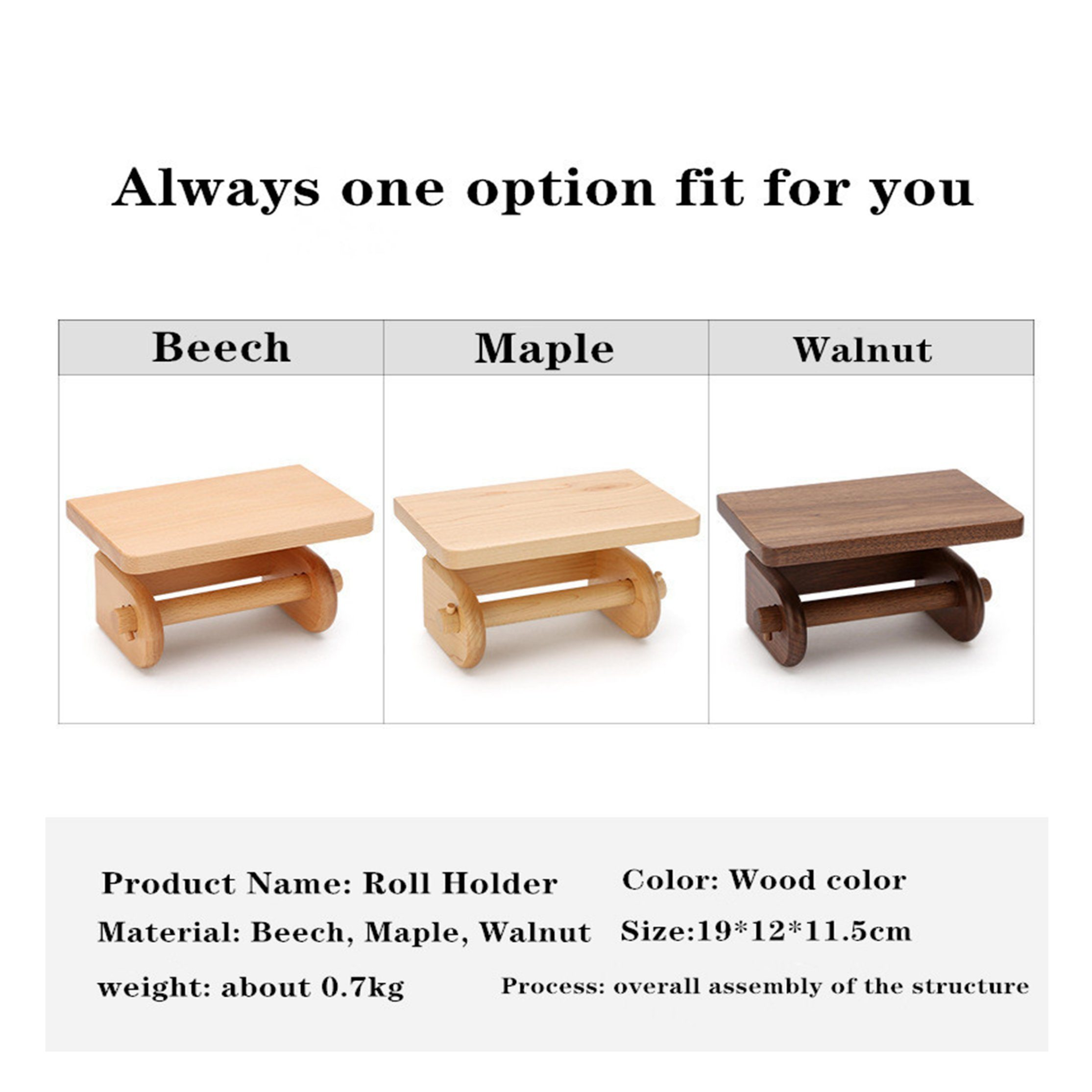 China Wooden Creative Paper Towel Rack Toilet Toilet Paper Holder Kitchen Wall Mounted Storage Wooden Roll Holder Amaw 0035 Photos Pictures Made In China Com