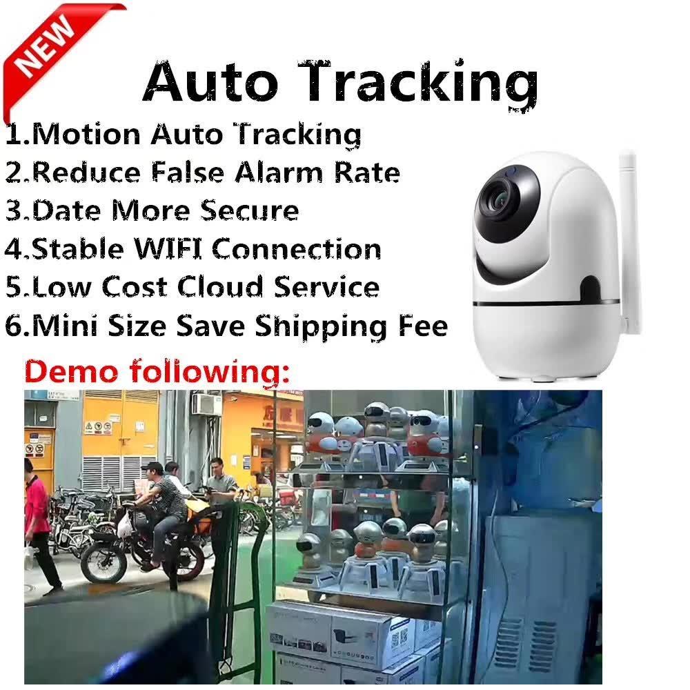 China Cloud Storage Smart Security Camera Motion Auto