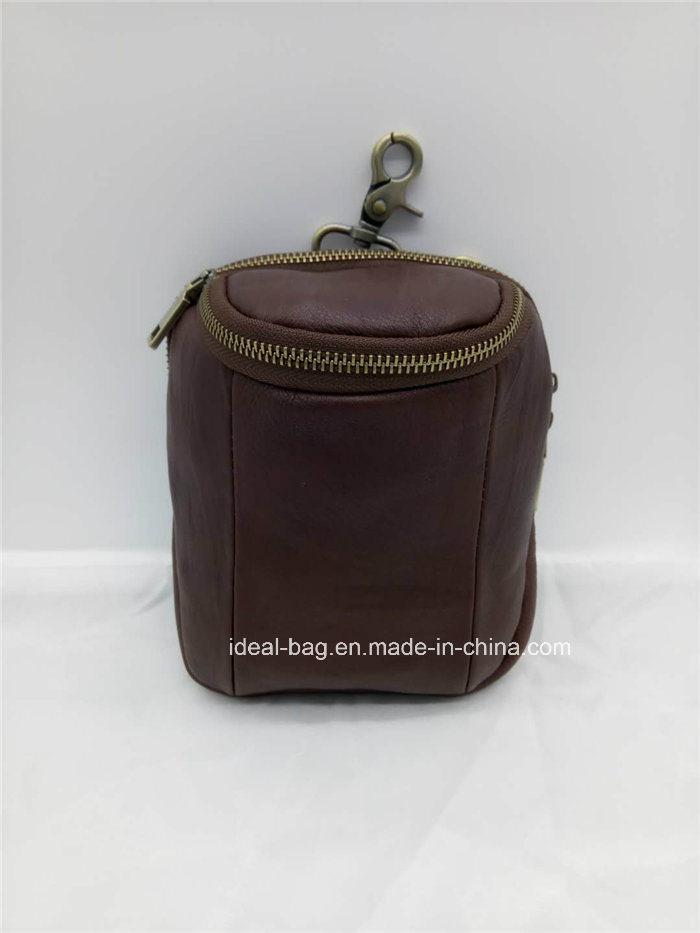 7f3cf684551 [Hot Item] Fashion Genuine Leather Waist Belt Bag, Men Leather Messenger  Shoulder Sling Bag, Crossbody Phone Waist Bag