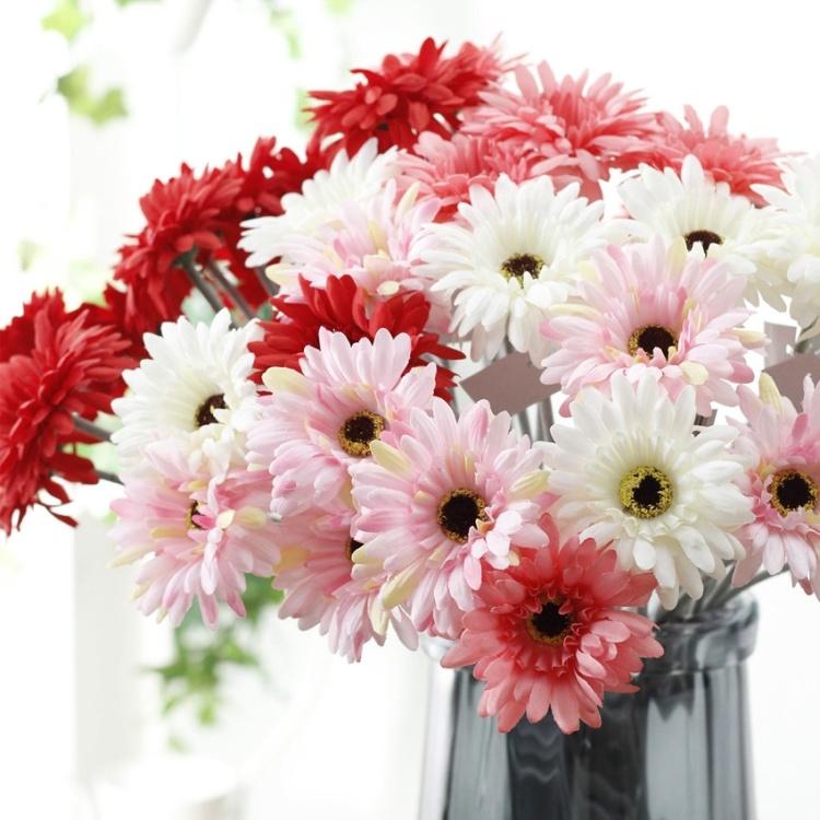 Ingrosso Fiori.China Gerbera Artificial Flower Ingrosso Fiori Artificiali China