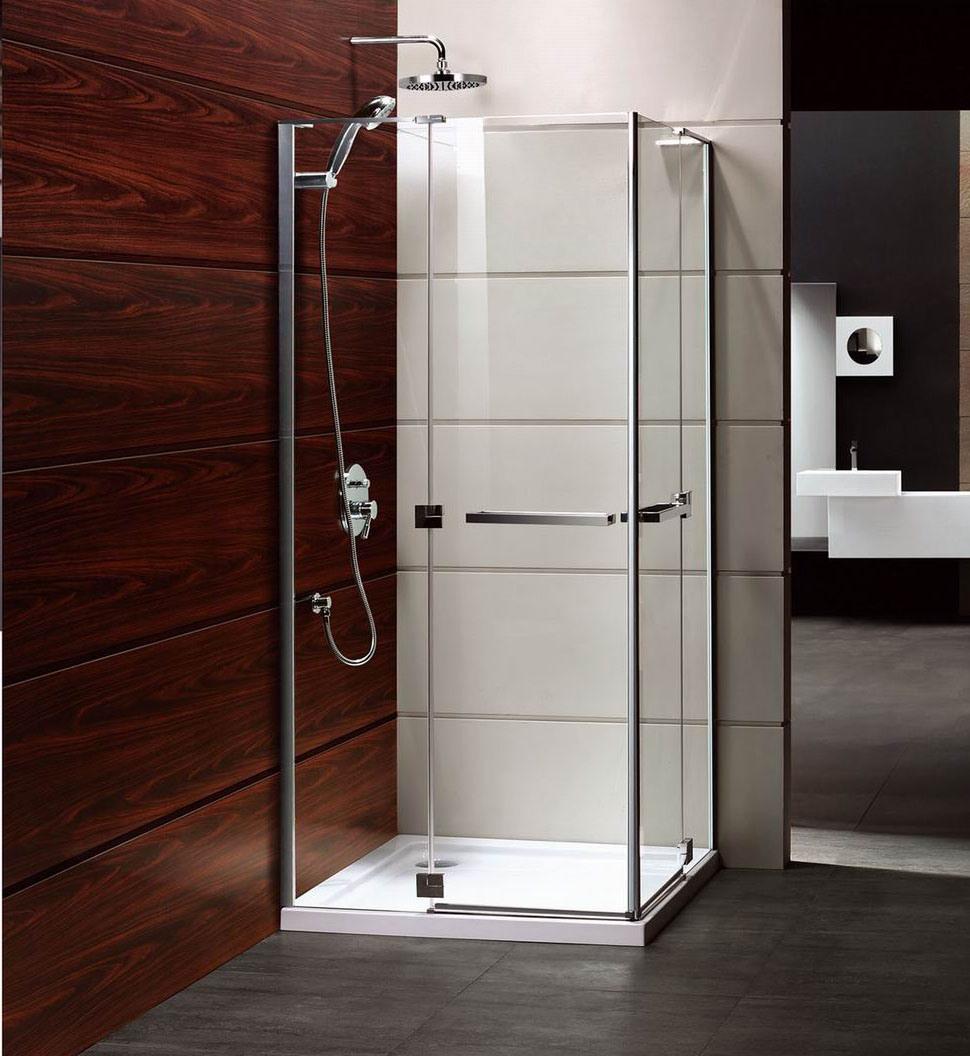 China Free Standing Alluminum Alloy Custom Fiberglass Shower ...