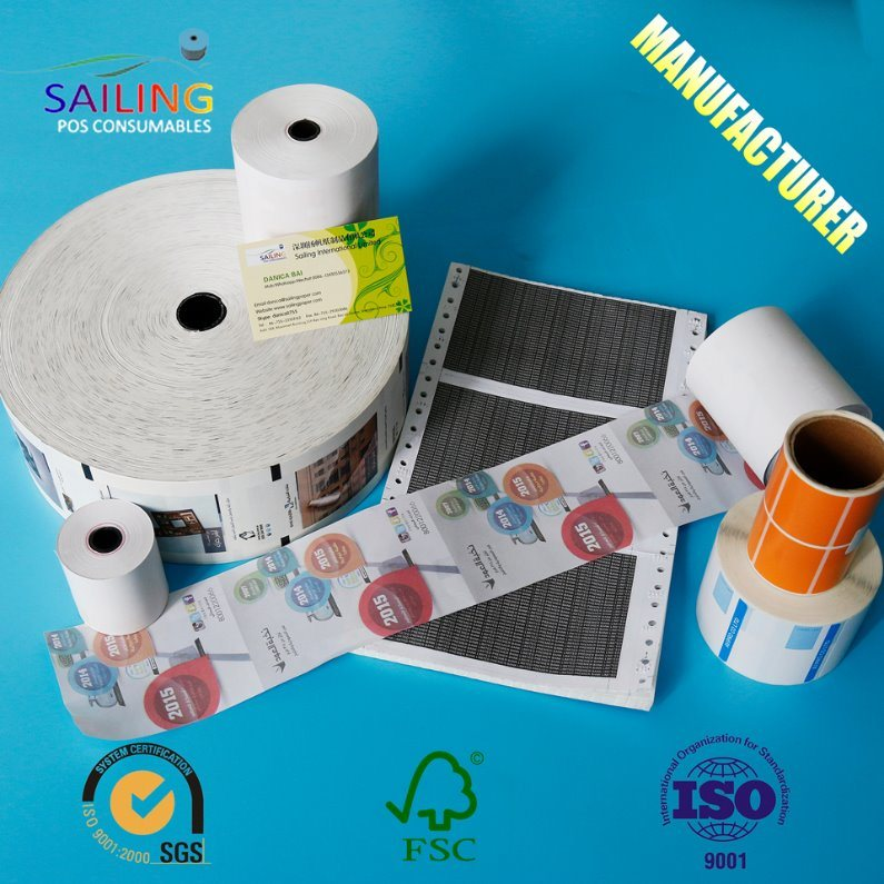 China 80 X 80 Direct Thermal Paper for POS/ATM Photos