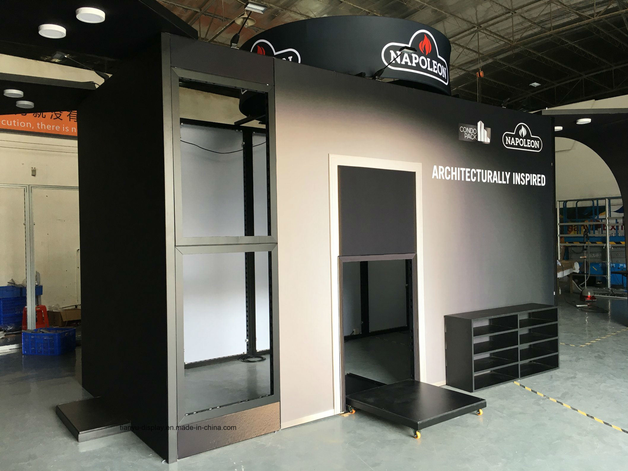 Exhibition Stand Galleries : China trade show booth 10x20 commercial products stall portable