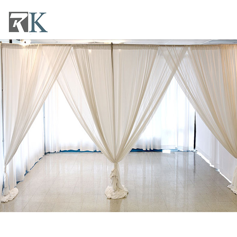 Hot Item Diy Wedding Backdrop Stage Equipment Curtain Pipe And Drape Backdrop